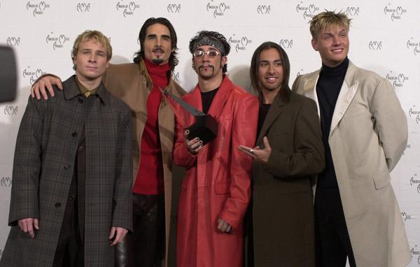 Backstreet Boys hace unos años