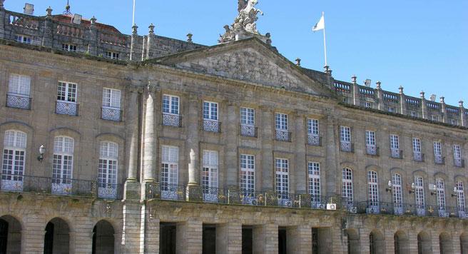 Ayuntamiento de Santiago de Compostela. (WIKIMEDIA)