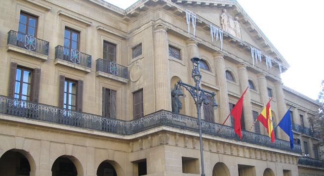 En la imagen, el Palacio de Navarra (Jorab - WIKIMEDIA)