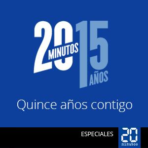 Especial 15 aniversario de 20minutos