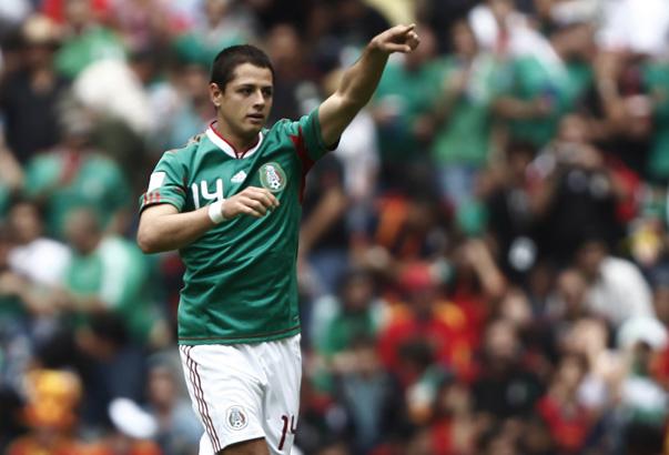 Chicharito Hernández, delantero de México