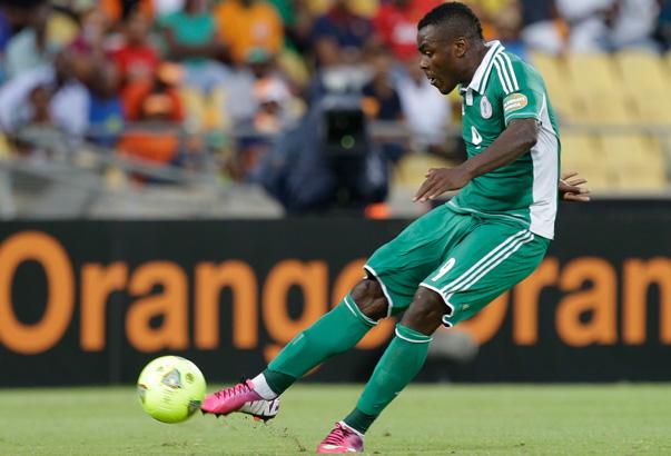 Emenike, delantero de Nigeria