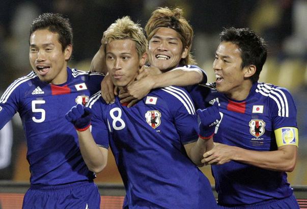 Honda, jugador de Japón