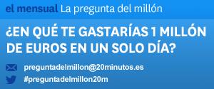 Pregunta del mill�n: �En qu� te gastar�as un mill�n de euros si tuvieras que hacerlo en un solo d�a?