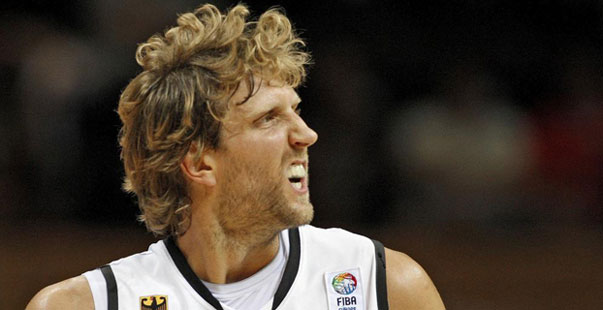 Nowitzki, ausenten en el Eurobasket