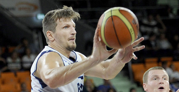 Teletovic, con la selección bosnia