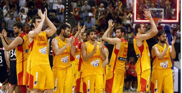 España, actual campeona de Europa