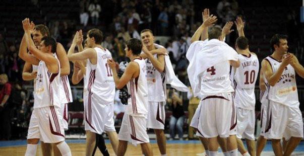 La selección de Letonia