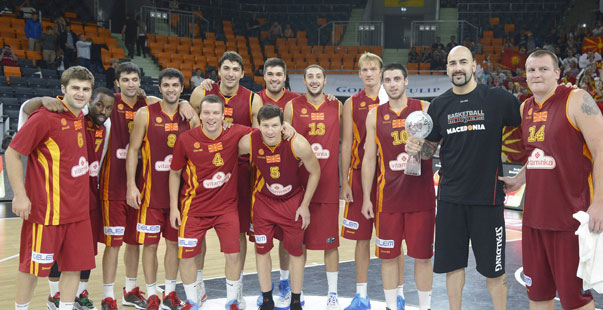 La selección macedonia