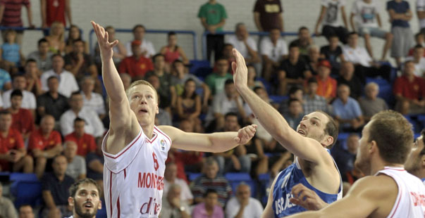 Sehovic con Montenegro