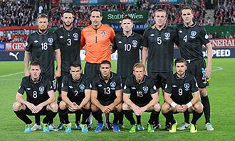 Selección Irlandesa