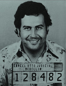 Pablo Escobar - Ficha Policial