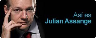 Así es Julian Assange