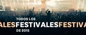 Festivales de m�sica 2015