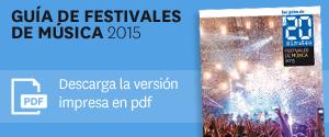 Gu�a Festivales de m�sica 2015