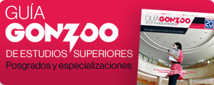 Gu�a Gonzoo: Especializaciones y posgrados