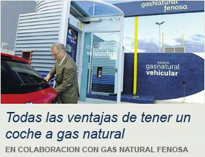 Ventajas de tener un coche a gas natural