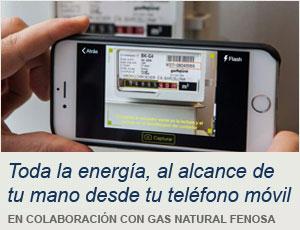 Toda la energía, en tu teléfono móvil