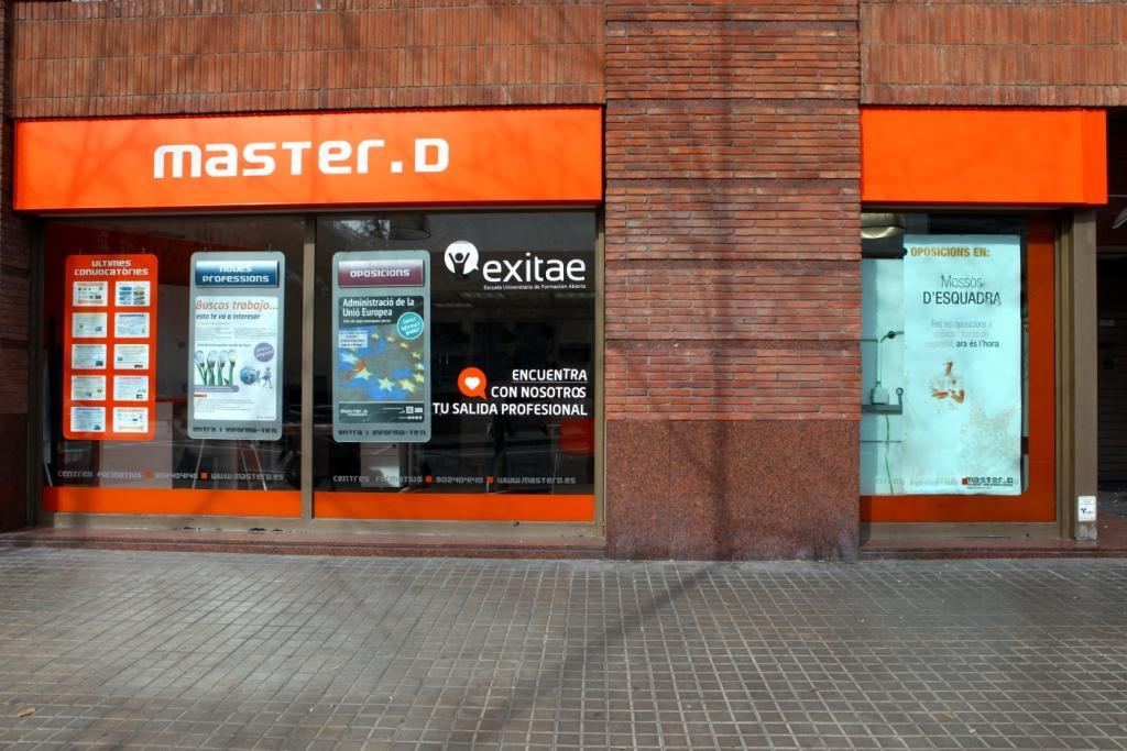 El centro de estudios MasterD de Barcelona.