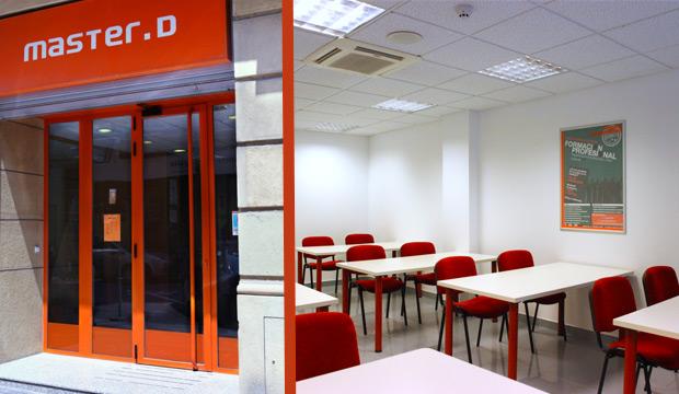 El centro de estudios MasterD de San Sebastián.